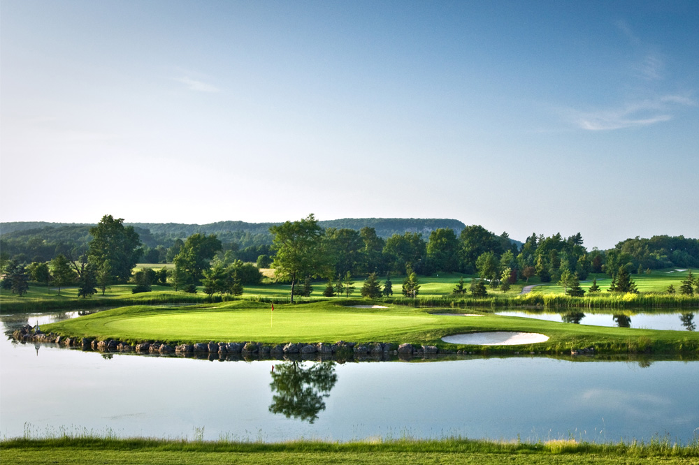 Fifth hole view at Crosswinds Golf & Country Club, Burlington, Ontario