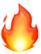 Crosswinds Fire Emoji