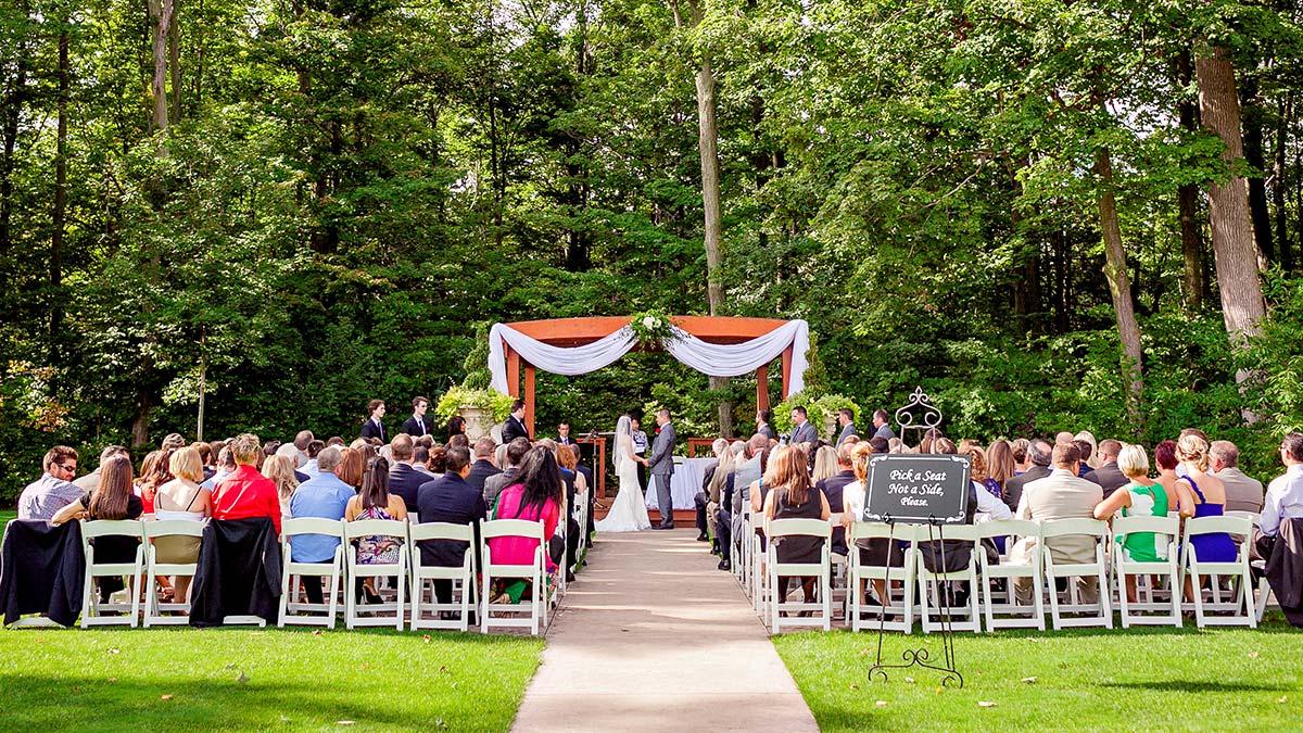 Crosswinds Outdoor Wedding Ceremony Area
