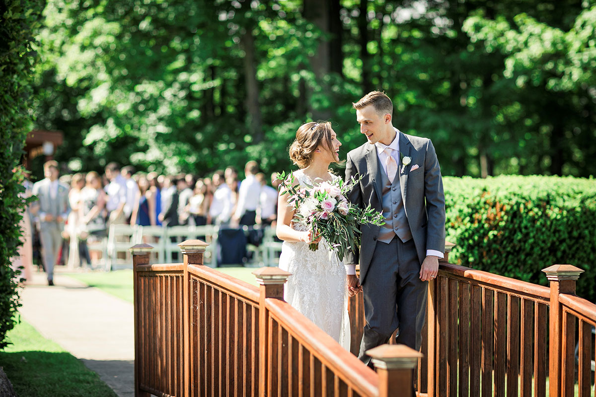 Crosswinds Wedding Ceremony Bridge