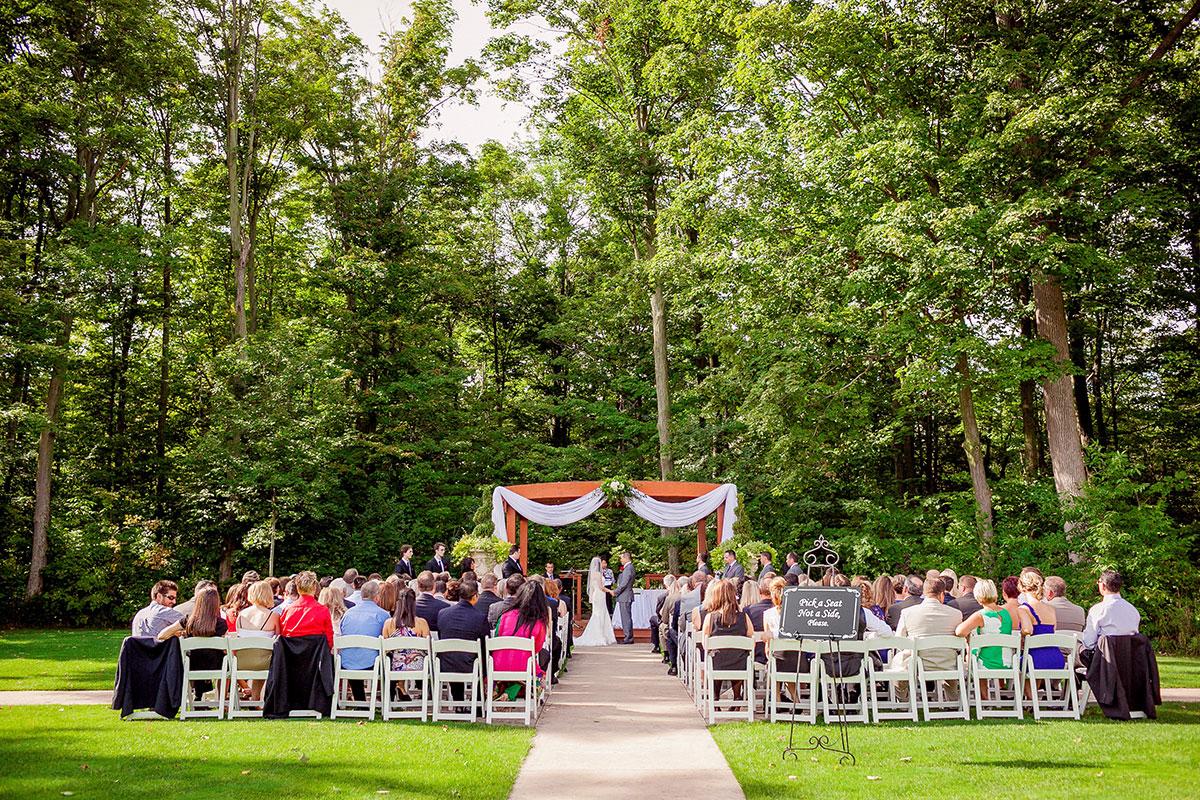 Crosswinds Wedding Ceremony Seating