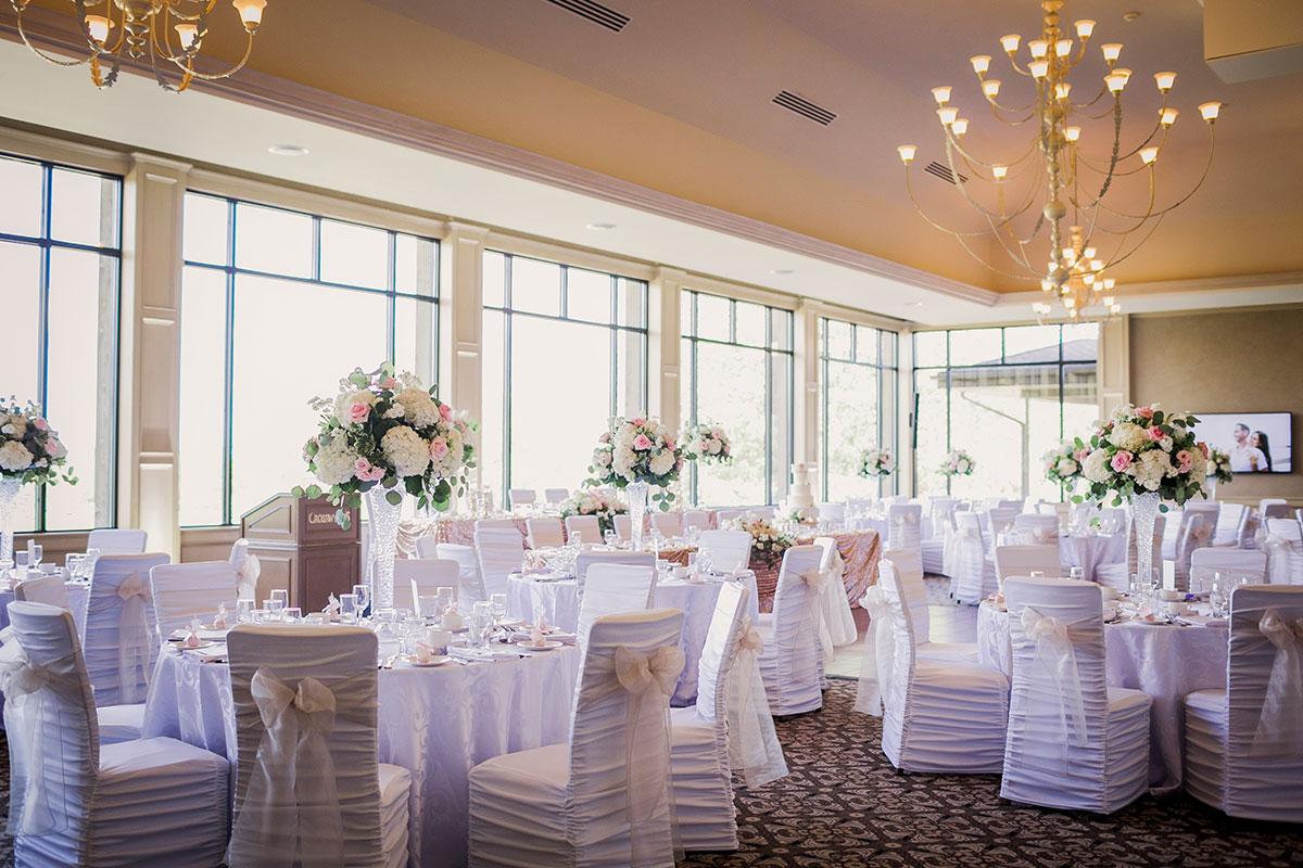 Crosswinds Grand Hall for wedding receptions