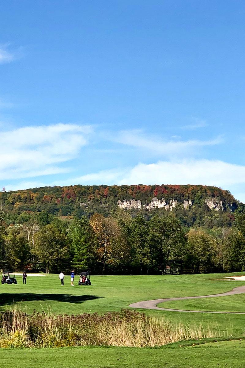 Niagara Escarpment View at Crosswinds Golf & Country Club