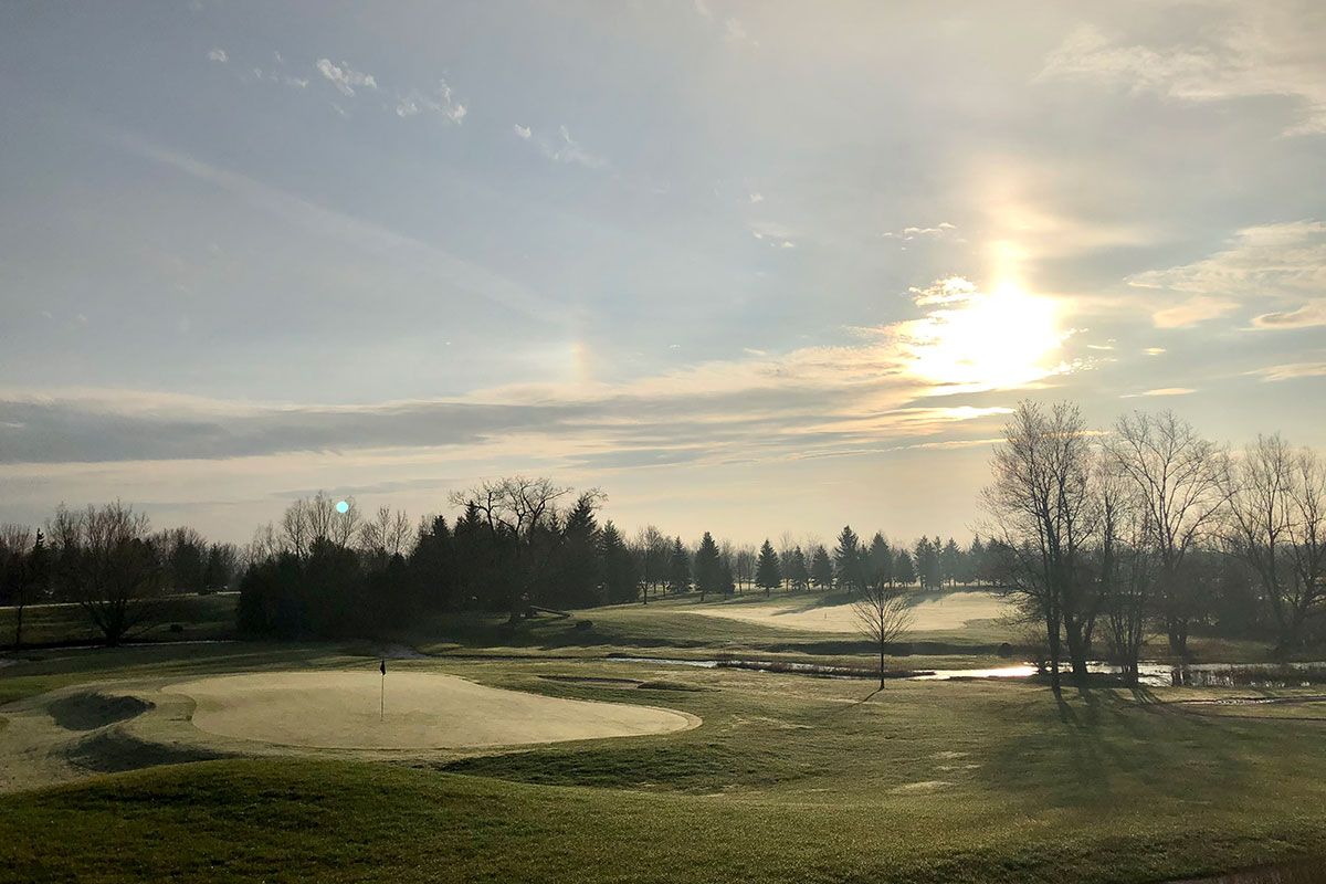 Morning Mist at Crosswinds Golf and Country Club Burlington
