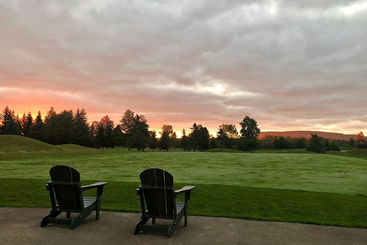 Golf Begins at Crosswinds Golf and Country Club Burlington