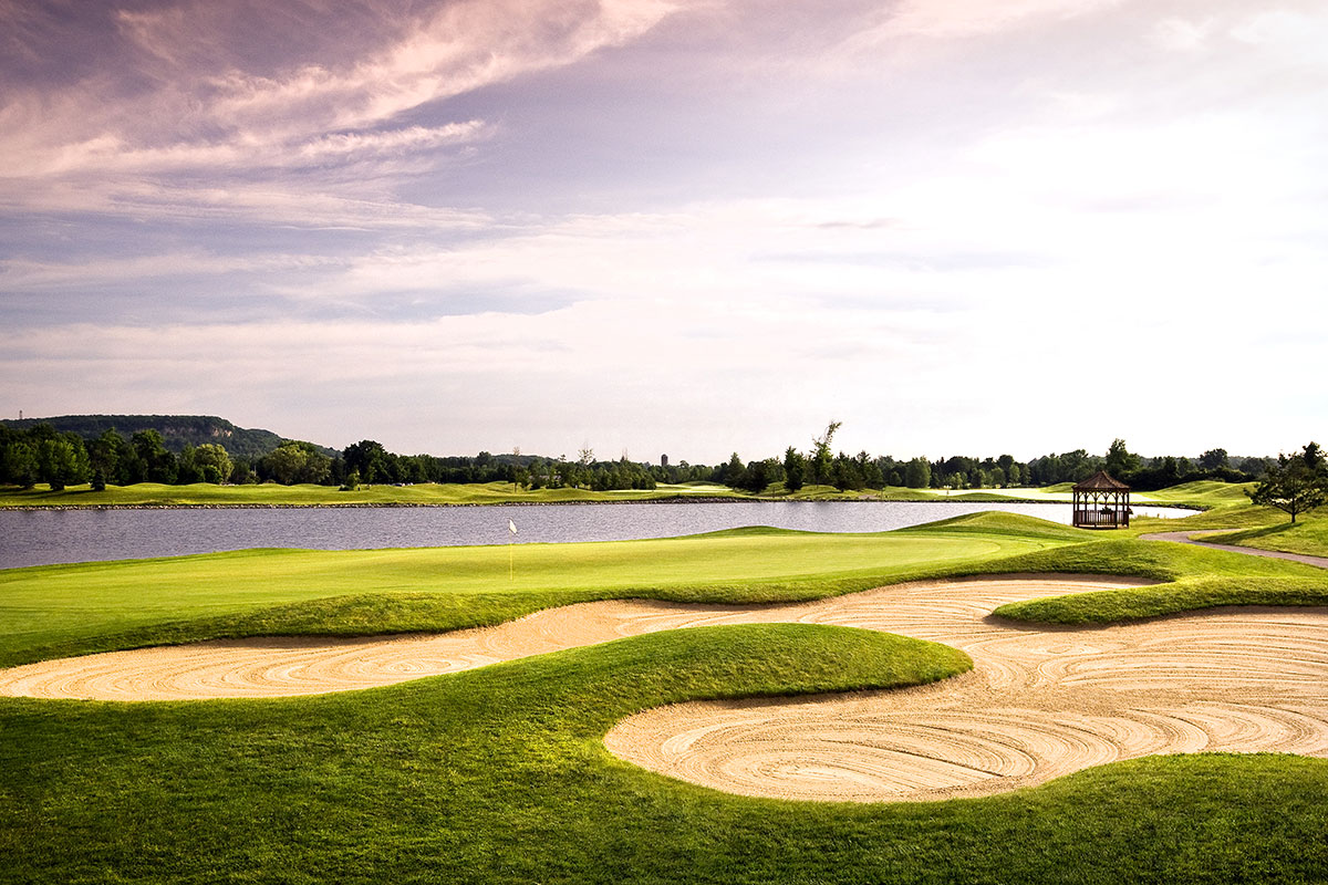 Sand and Water to Challenge Golfers at Crosswinds Golf