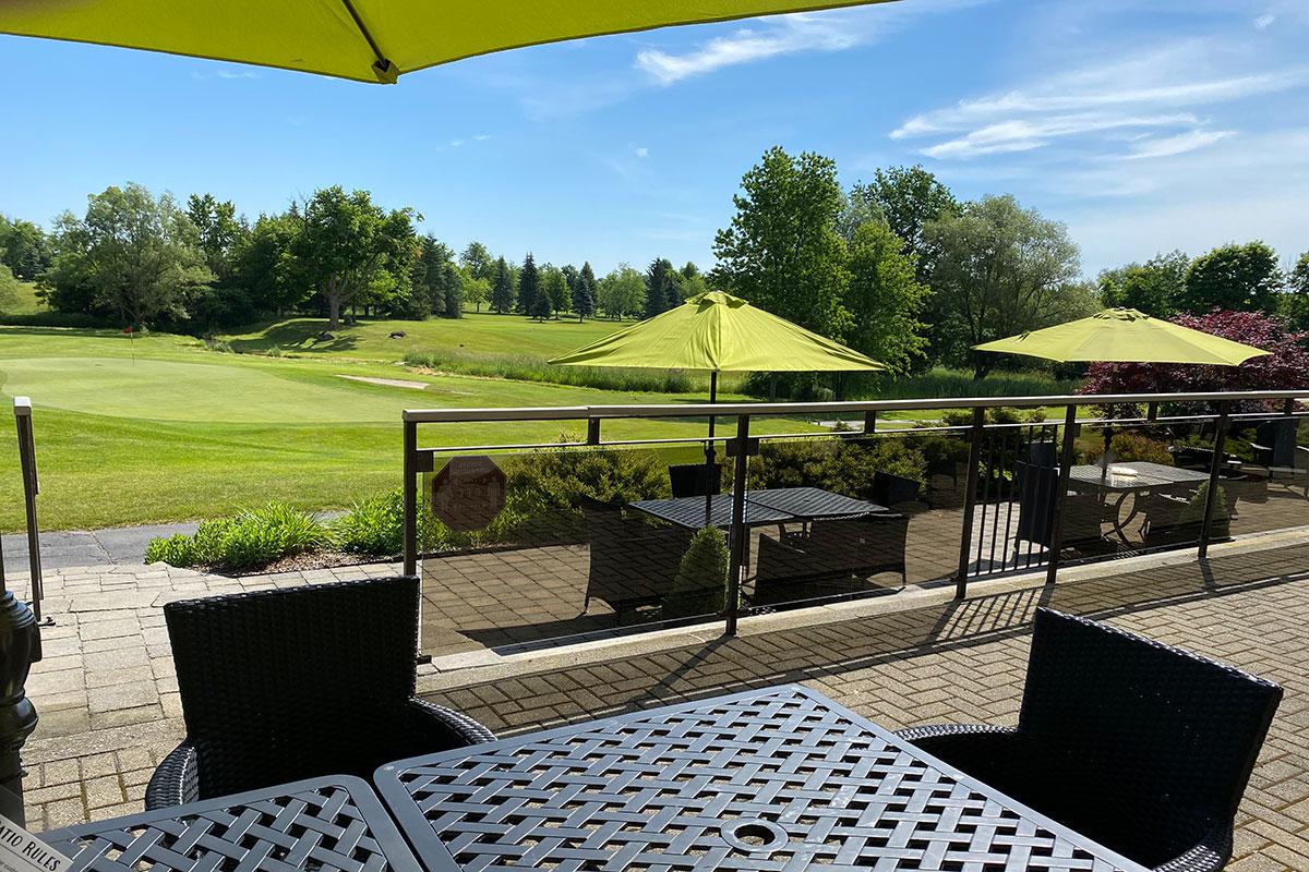 Crosswinds Golf Patio Vista